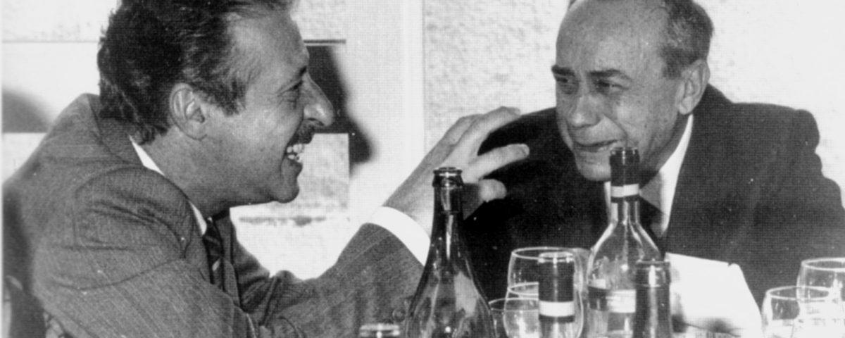 Paolo Borsellino e Leonardo Sciascia