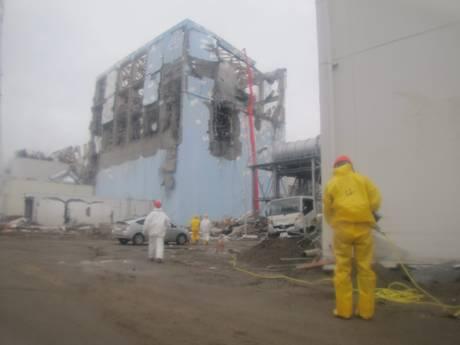 La centrale nucleare di Fukushima (Ansa)