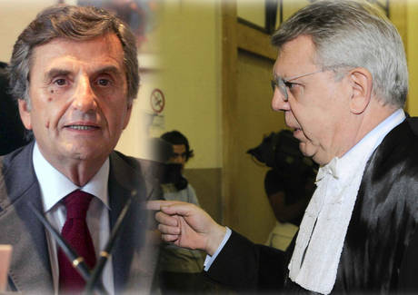 Giandomenico Lepore e Pietro Longo (Ansa)