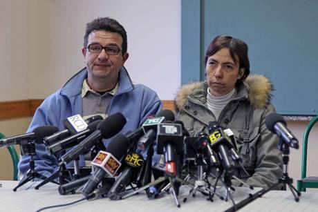 I genitori di Yara Gambirasio (Ansa)