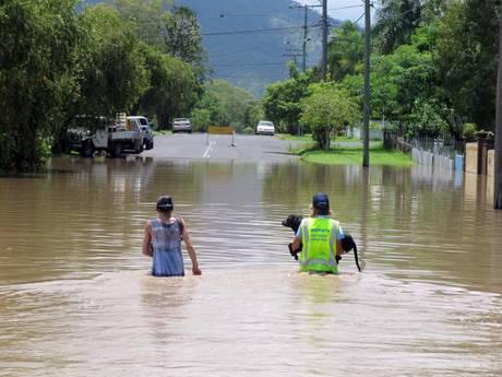Rockhampton sotto l'acqua (Ansa)