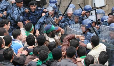Libia, scontri a Bengasi (ansa)