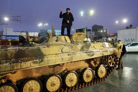 Proteste contro Gheddafi (Ansa)