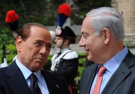 Vertice Italia- Israele (Ansa)