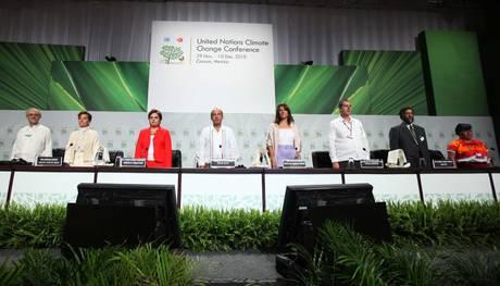 Il summit a Cancun (Ansa)