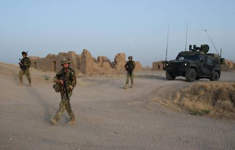 Militari italiani in Afghanistan (Ansa)