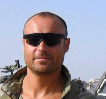 Il tenente Alessandro Romani (Ansa)