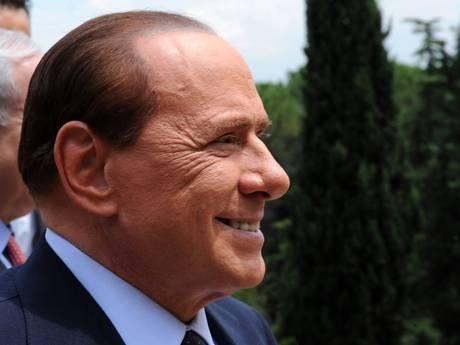 Silvio Berlusconi in una foto d'archivio ansa
